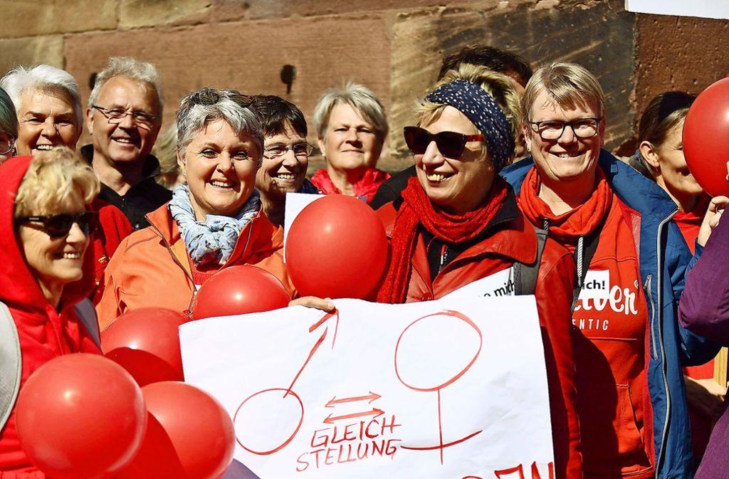 Geballte katholische Frauenpower – und Männer dürfen mitmachen. Foto: dpa