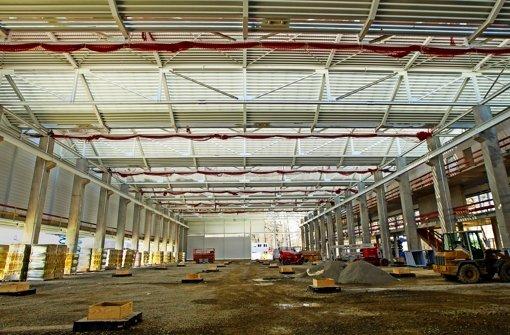 Herz der künftigen Arena 2036 ist eine große Halle. Foto: Lichtgut/Leif Piechowski