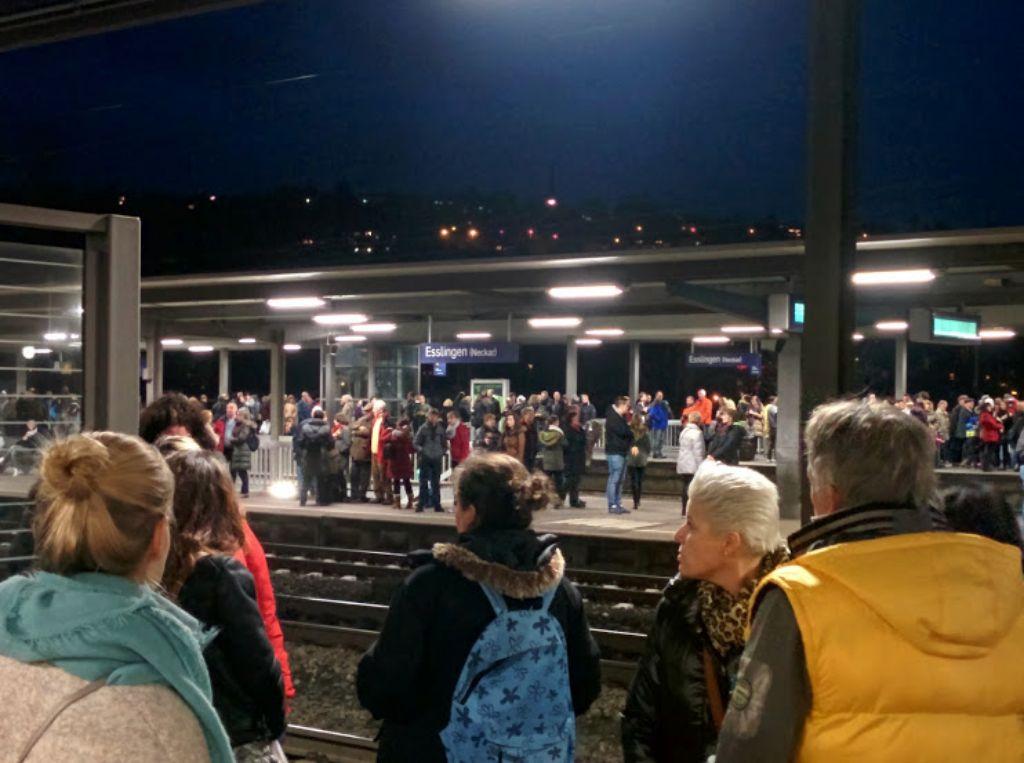 Am Samstag hatten die S-Bahnen im Raum Stuttgart wegen eines Ballons Verspätung. Foto: Jan Georg Plavec
