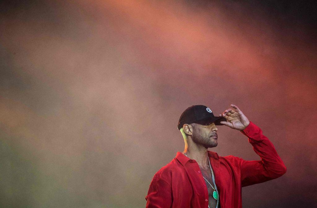 Booba  zählt zu den erfolgreichsten französischen Rappern. Foto: AFP