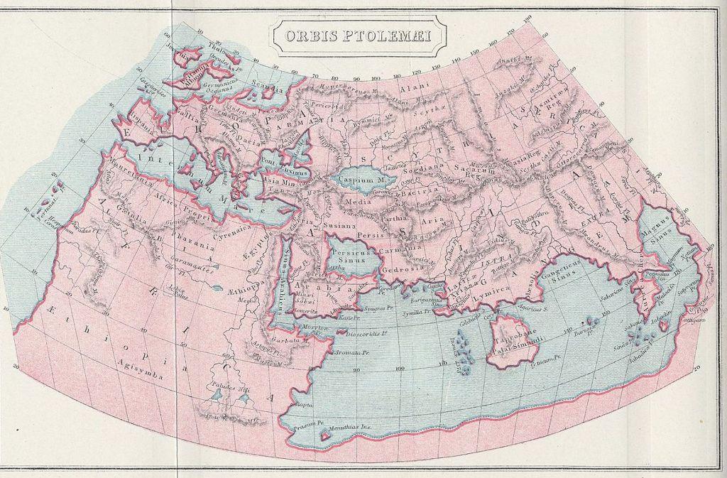 Der Deutsche Kartograf Henricus Martellus Germanus Fertigte 1490
