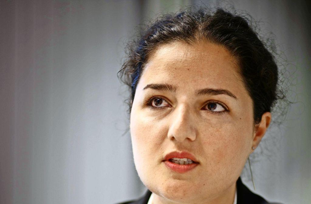Abuladze kennt die Hürden für ihre Schützlinge  aus eigener Erfahrung. Foto: Stoppel
