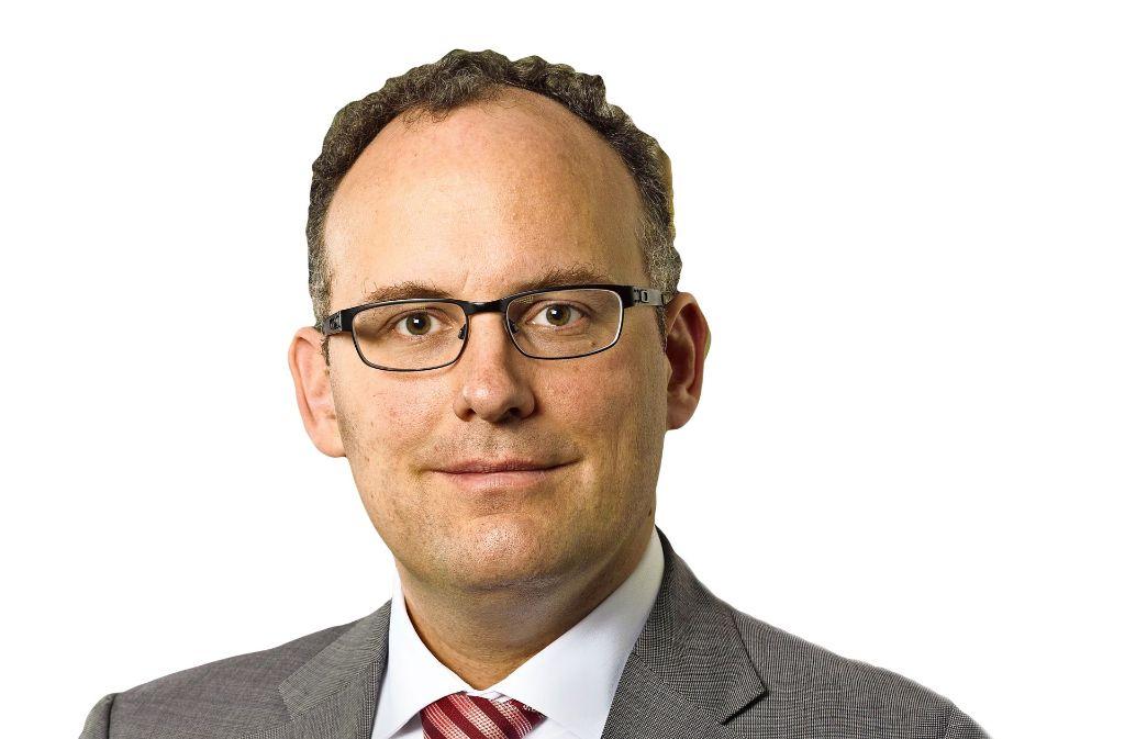 Matthias Bäcker, Professor für Öffentliches Recht und Informationsrecht an der Universität Mainz Foto: Patrick Langer