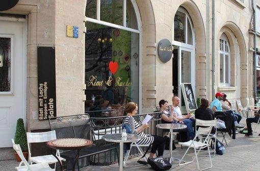 Stuttgarts schönste Straßencafés