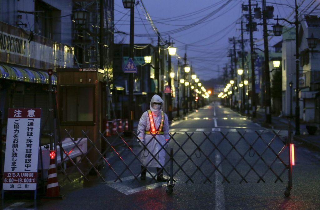 In Fukushima haben die Menschen immer noch mit den Folgen des Super-Gaus zu kämpfen. Foto: EPA