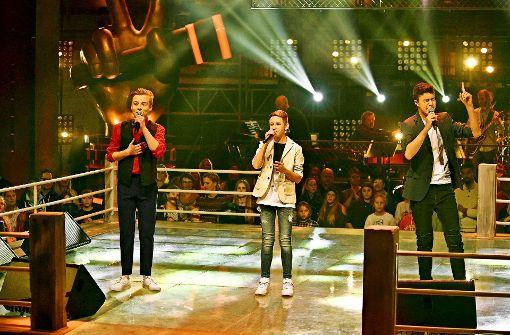 """Ruben singt sich  bei """"The Voice Kids"""" in die nächste Runde"""