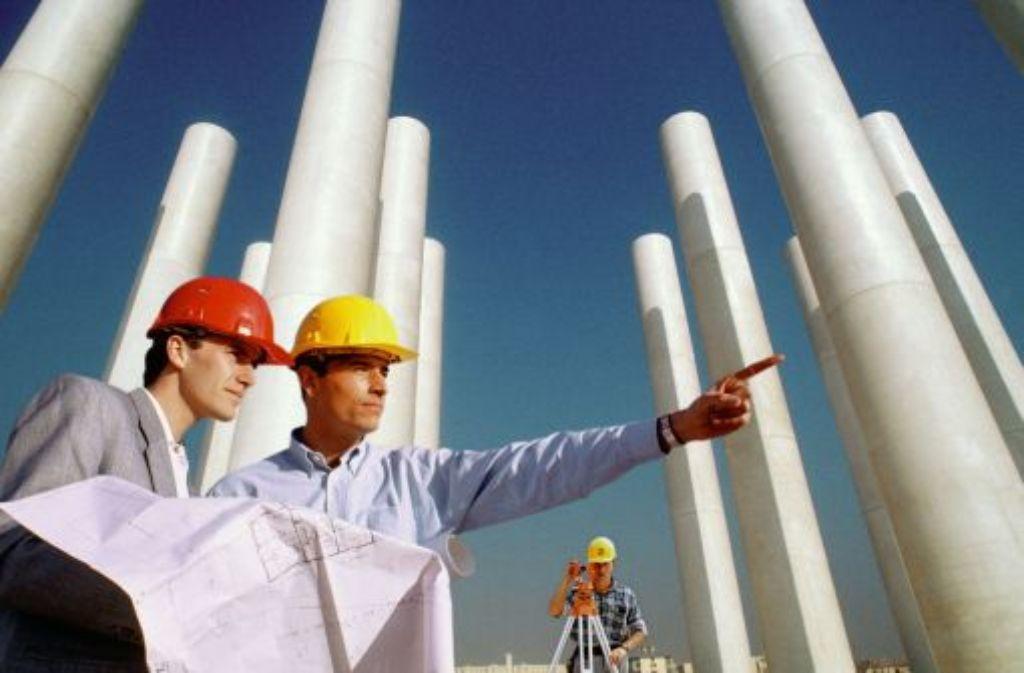Der moderne Bauingenieur versteht sich als Unternehmer seiner Baustelle. Foto: A1PIX/Your Photo Today