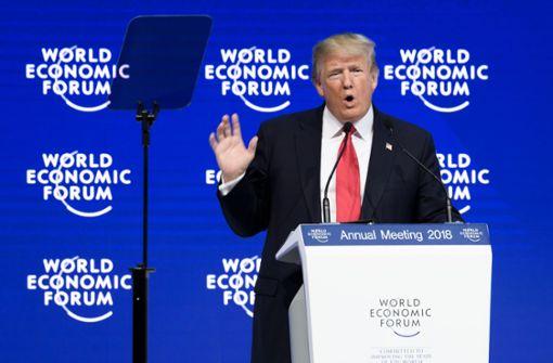 Trump lädt Unternehmen zu Investitionen in den USA ein