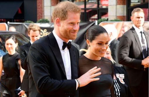 Herzogin Meghan und Prinz Harry outen sich als Fans