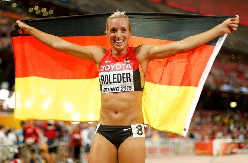 Roleder holt Silber über 100 Meter Hürden