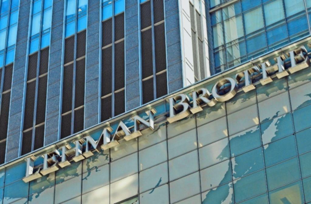 Die Pleite der US-Bank Lehman Brother stand am Anfang der Finanzkrise. Foto: dpa