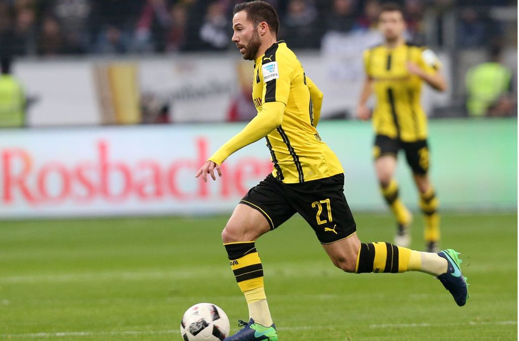 Der Dortmunder Gonzalo Castro könnte schon bald das Stuttgarter Spiel antreiben. Foto: Baumann