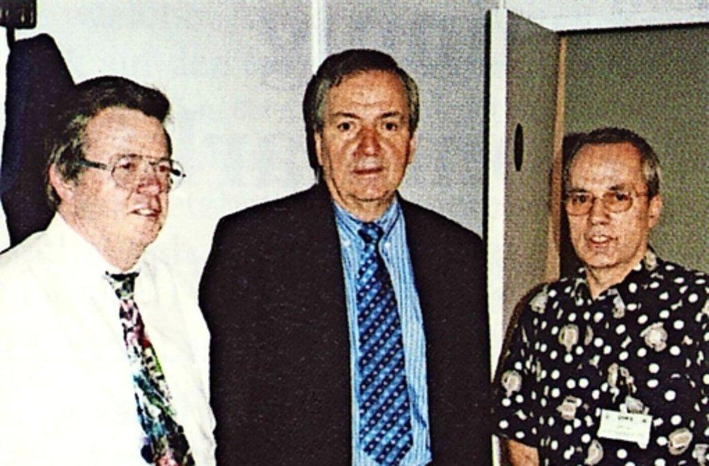 Rüdiger Beising (links) mit dem Ex-Umweltminister Klaus Töpfer (Mitte). Foto: privat