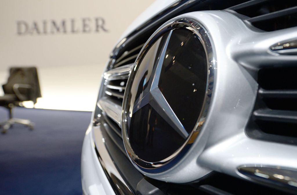 Die EU verschärft die Kartellermittlungen gegen deutsche Autobauer wie Daimler. Foto: dpa