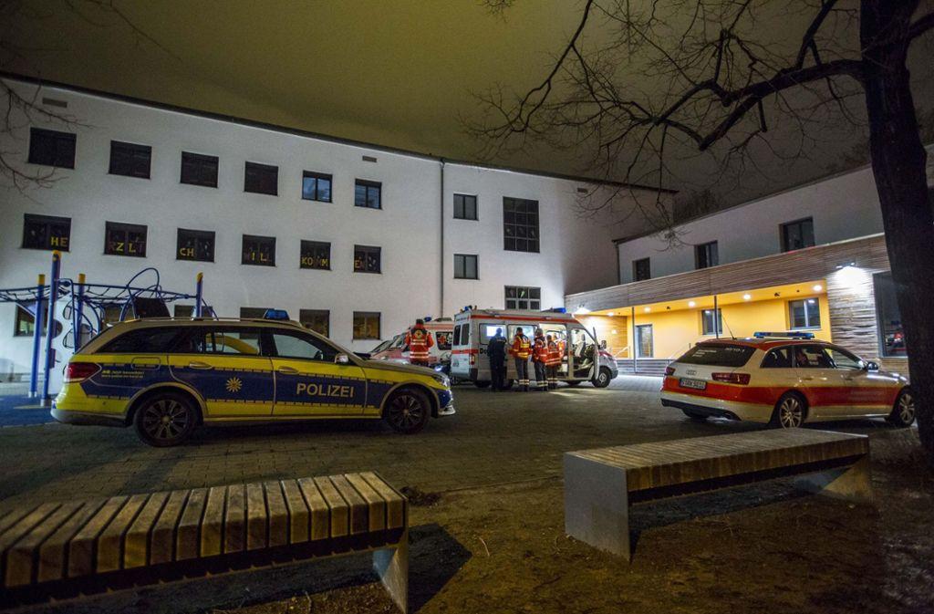 Etliche Rettungskräfte suchten in der Nacht zum Dienstag nach Lucas. Foto: 7aktuell.de/Simon Adomat
