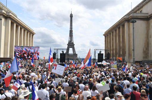 Frankreich kämpft gegen die vierte Corona-Welle