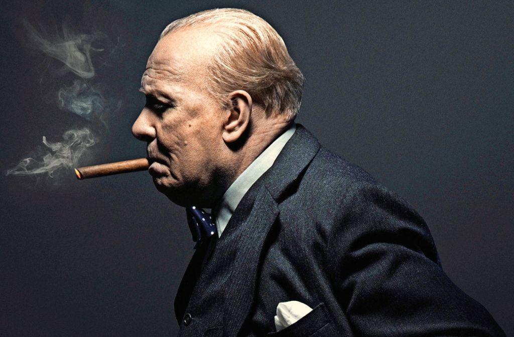 Einen Golden Globe hat er schon bekommen für seine Interpretation von Winston Churchill: Gary Oldman Foto: Verleih
