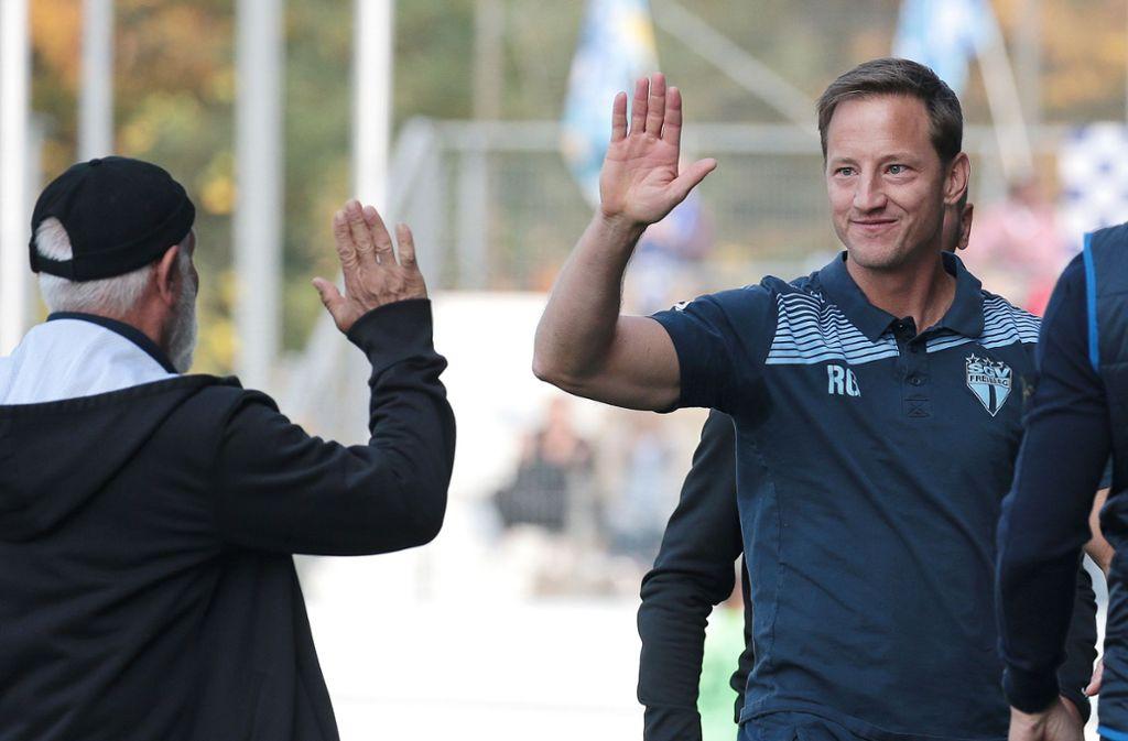 Umgänglicher Mensch: Der neue Kickers-Trainer Ramon Gehrmann. Foto: Baumann