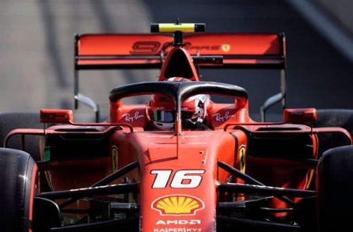 Leclerc startet von der Pole - Vettel Zweiter