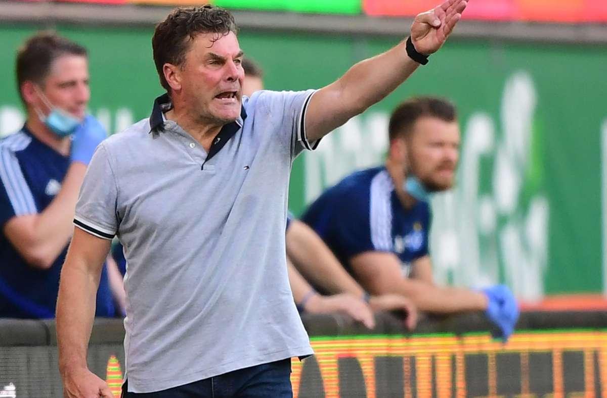 Dieter Hecking will mit dem Hamburger SV in die 1. Bundesliga aufsteigen. Foto: dpa/Robert Michael