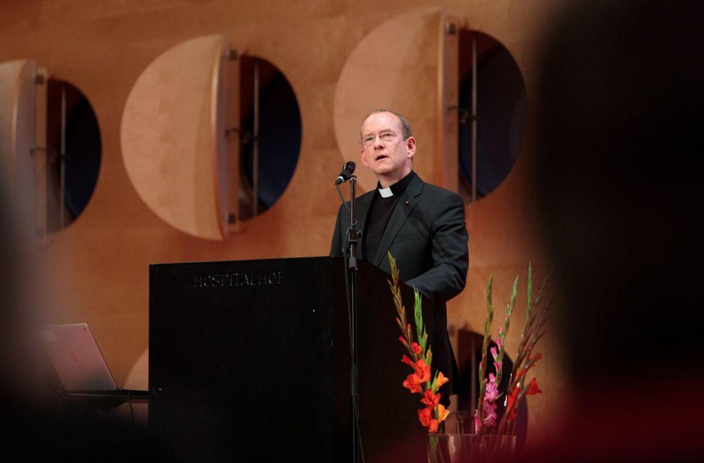 Stadtdekan Christian Hermes hat eine klare Meinung zu den Missbrauchsfällen in der katholischen Kirche. Foto: Lichtgut/Verena Ecker