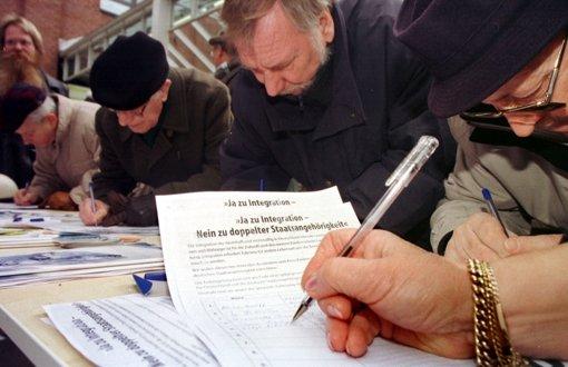 Mitsprache aus EU-Ebene: Eine Million Unterschriften können etwas verändern Foto: dpa