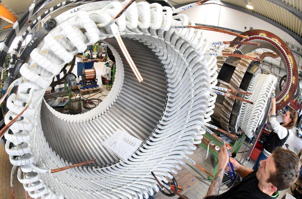 Der Maschinenbau in Deutschland verliert an Tempo. Foto: ZB