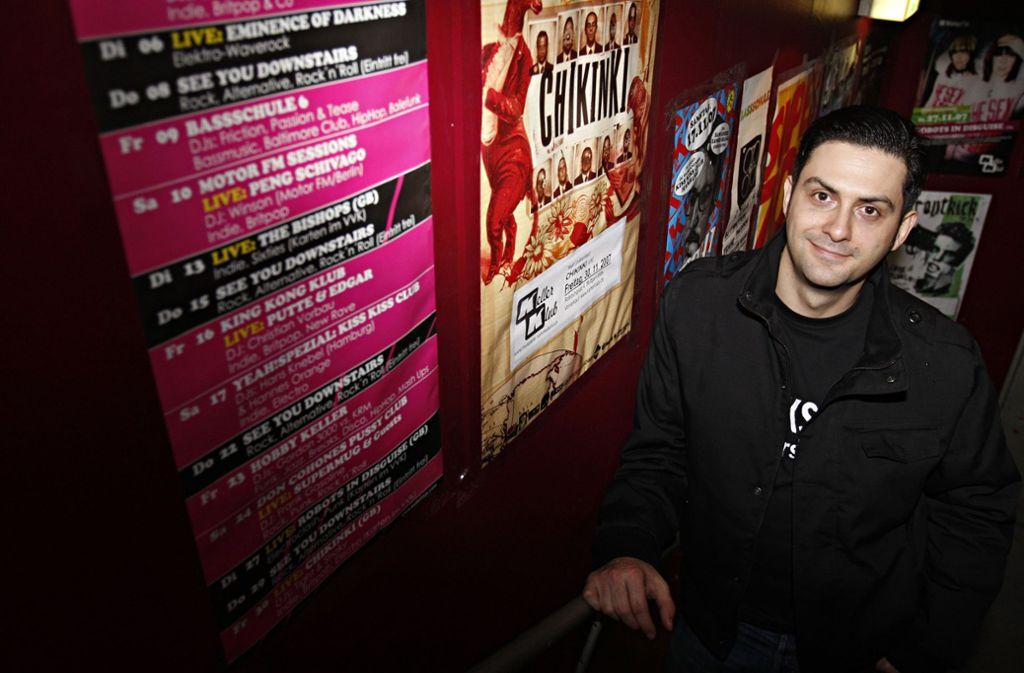 Ein Clubbetreiber packt aus – Carlos Coelho hat in Stuttgart etliche irre Partynächte erlebt. Foto: Kraufmann / Franziska Kraufmann