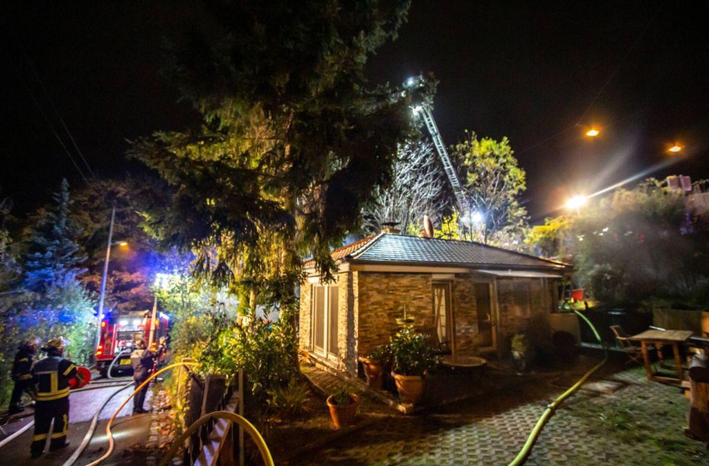 Der Brand brach am Donnerstagabend aus. Foto: 7aktuell.de