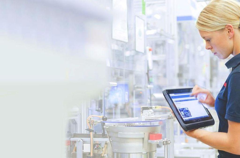 Bosch hat ein eigenes System entwickelt, um die Produktion effektiver steuern zu können. Foto: Bosch