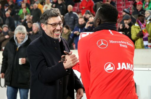 VfB-Präsident Claus Vogt solidarisiert sich mit Jordan Torunarigha