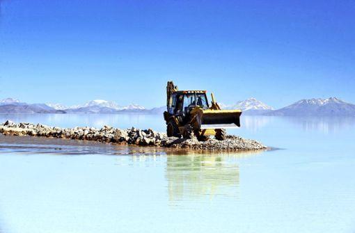 Rottweiler Firma fördert Batteriemetalle in Bolivien