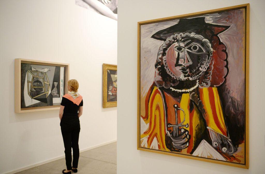 Die Werke von Pablo Picasso sind weltweit äußerst begehrt (Symbolbild). Foto: dpa