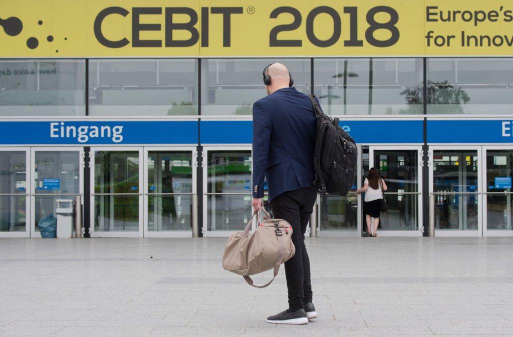 Die Cebit wird in Zukunft nicht mehr geben. Foto: dpa