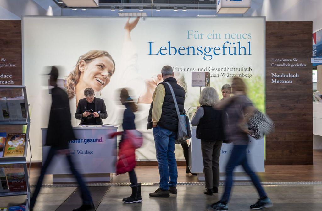 Neun Tage lang waren die Stuttgarter Messehallen  Anziehungspunkt für Reiselustige und Wellness-Suchende. Foto: Lichtgut/Julian Rettig