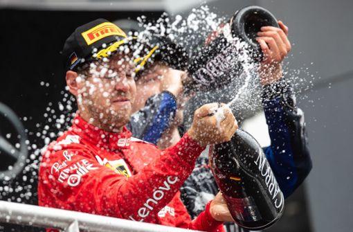 Furioser Vettel im Hockenheim-Chaos Zweiter hinter Verstappen