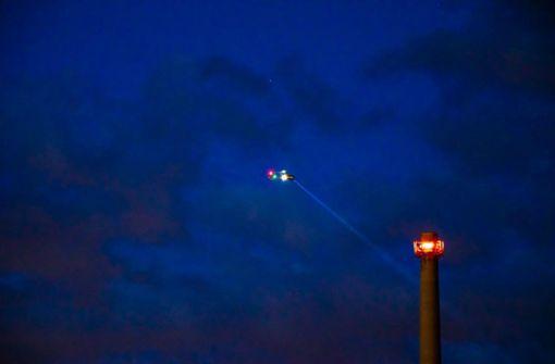 Suche nach Vermissten mit zwei Hubschraubereinsätzen
