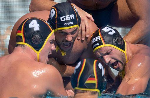 Deutsche Wasserballer wollen sich als WM-Fünfter verabschieden