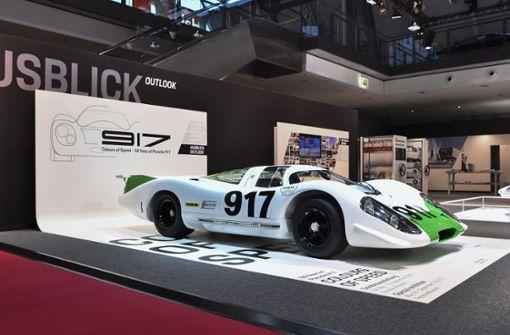 Porsche 917 bekommt eine Sonderausstellung