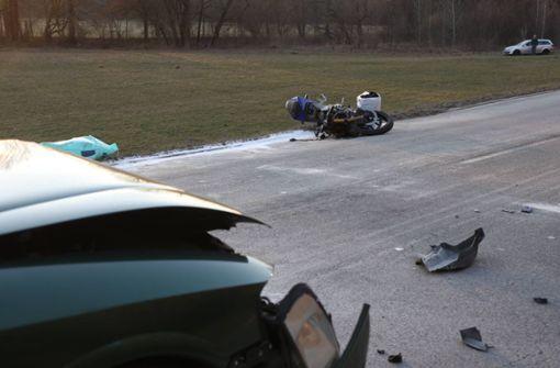 17-Jähriger bei Motorradunfall schwer verletzt