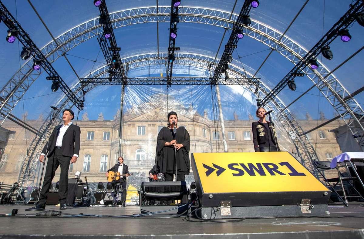 Nach der Corona-Pause soll es wieder stattfinden: das SWR-Sommerfestival auf dem Stuttgarter Schlossplatz. Foto: SWR/Markus Palmer