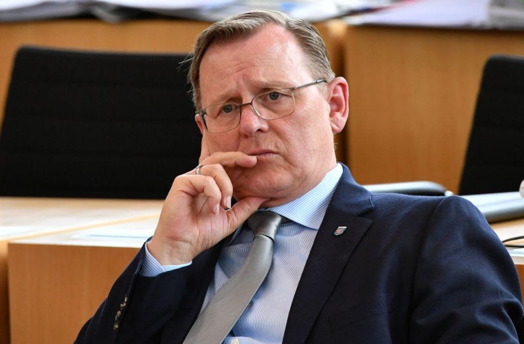Bodo Ramelow hatte ein Foto von Bernd Höcke getwittert. Foto: dpa
