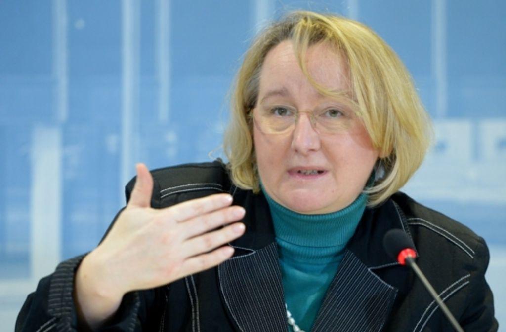 Die baden-württembergische Wissenschaftsministerin Theresia Bauer (Grüne) schwört die Musikhochschulen auf Mut zu Veränderungen ein. Foto: dpa