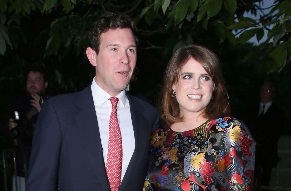 Eugenie und ihr Mann Jack Brooksbank werden Eltern. Foto: dpa/Joel Ryan