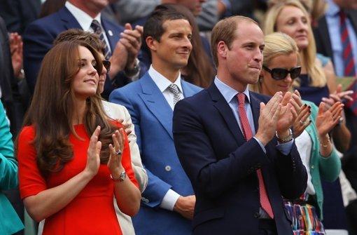 Herzogin Kate als Lady in Red bei Murray-Sieg