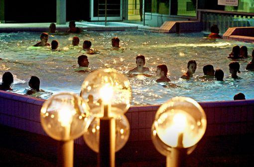 Die  Nachbarn können kostenlos baden gehen