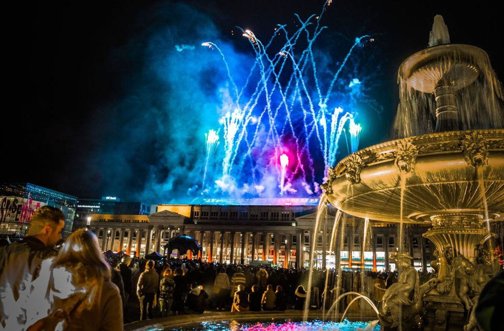 Die lange Einkaufsnacht von ihrer schönsten Seite Foto: Lichtgut/Julian Rettig