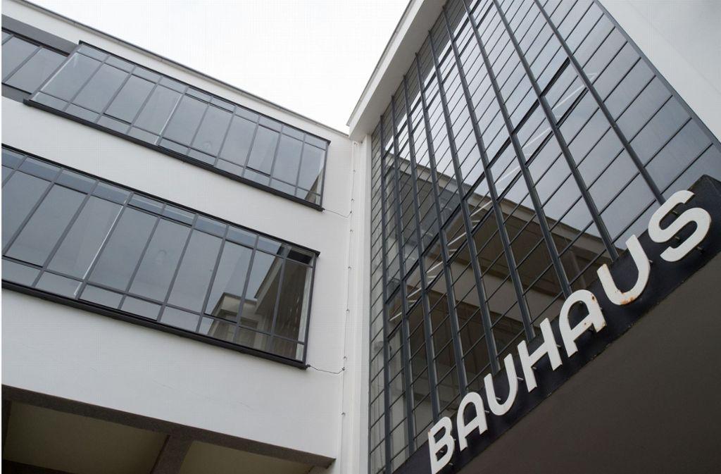 Das Bauhaus feiert im kommenden Jahr sein 100-Jahr-Jubiläum. Foto: dpa-Zentralbild