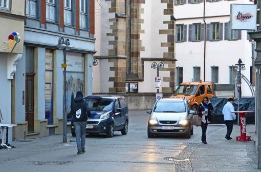 Stadträte für Poller in der  Altstadt