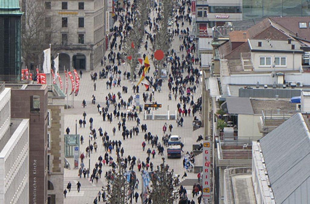 Immer mehr Menschen zieht es nach Stuttgart. Foto: Leserfotograf remstal-knipser
